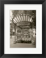 Framed Metropolitain (Paris) I