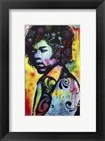 Framed Hendrix
