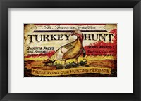 Framed Turkey Hunt