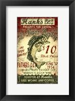 Framed Hanks Bait