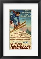 Framed Steamboat