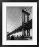 Framed Manhattan Bridge