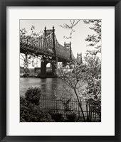 Framed 59Th Street Bridge