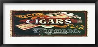 Framed Fine Cigars