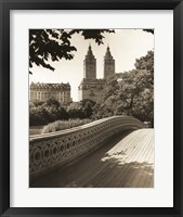 Bow Bridge NYC Framed Print