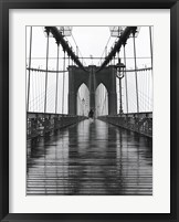 Framed Brooklyn Bridge I