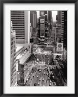 Times Square Sign Framed Print