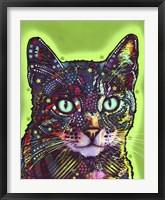 Framed Watchful Cat