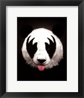Framed Panda Rocks