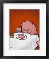 Framed Revenge Is a Dish (Pig)