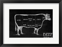 Butcher's Guide III Framed Print