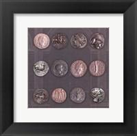 Framed Roman Coins II