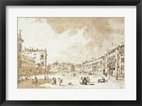 Framed View of Campo San Polo