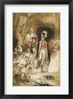 Framed Study for Sir David Baird Discovering the Body of Tipu Sahib