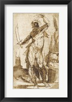 Framed Study for the Figure of Abraham