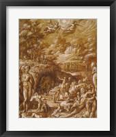 Framed Age of Gold