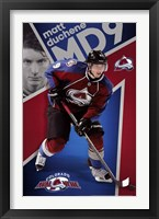Framed Colorado Avalanche -M Duchene 13