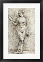Framed Nude Woman with a Mirror