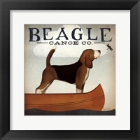 Framed Beagle Canoe Co