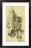 Framed Standard Bearer