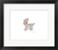 Nutshell Carriage Framed Print
