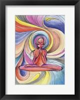 Framed Yoga Burst