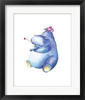 Framed Jane Hippo