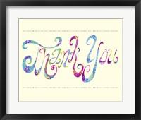 Framed Thank You
