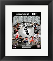 Framed Chicago White Sox All Time Greats Composite