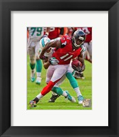 Framed Julio Jones 2013 Action