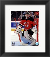 Framed Cory Schneider 2013-14 Action