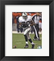 Framed Darren McFadden 2013 Action