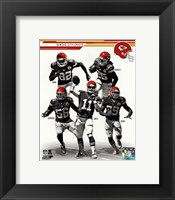 Framed Kansas City Chiefs 2013 Team Composite