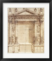 Framed Design for an Altar