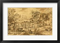Framed Peasant Kermis