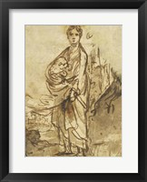 Framed Saint Agnes