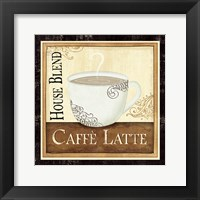 Coffee and Cream I Framed Print