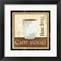 Coffee and Cream IV Framed Print