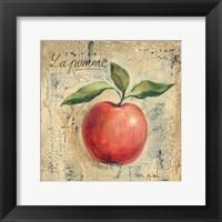 La Pomme Framed Print