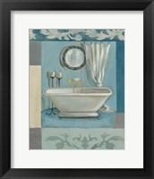 Antique Bath II Framed Print