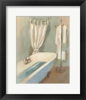 Steam Bath III Framed Print