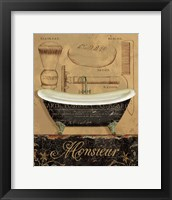 Bain de Monsieur Framed Print
