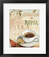 Cafe in Europe III Framed Print