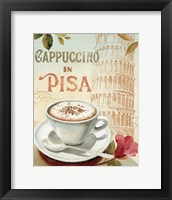 Cafe in Europe IV Framed Print