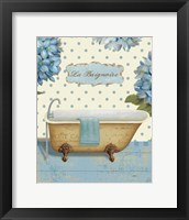 Thinking of You Bath II Framed Print