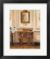 Classical Bath I Framed Print