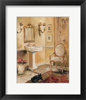 French Bath II Framed Print