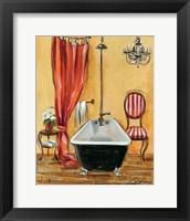 Tuscan Bath III Framed Print