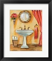 Tuscan Bath IV Framed Print