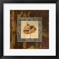 Autumn Leaf Square II Framed Print